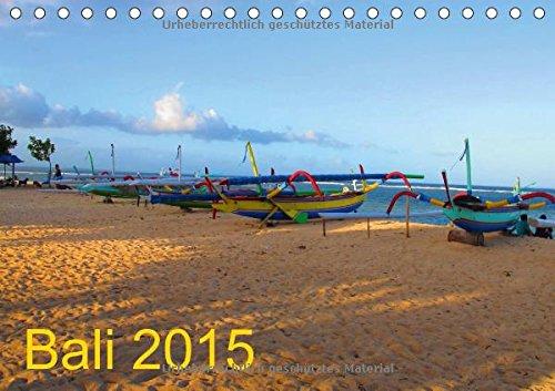 Bali (Tischkalender 2015 DIN A5 quer): Balis schönste Seiten (Tischkalender, 14 - Boot 2015-kalender