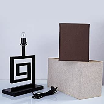 FDH Lampe de table de chevet, Creative Couvercle décoratif Salon Chambre à coucher, d'étude 450*200*250mm
