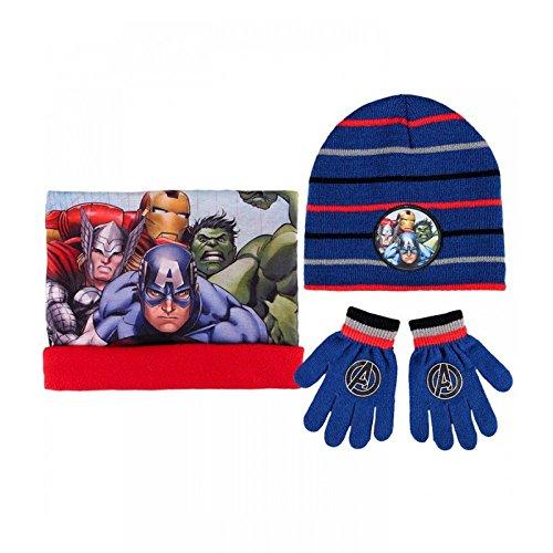 Cappello cappellino sciarpa guanti  Avengers
