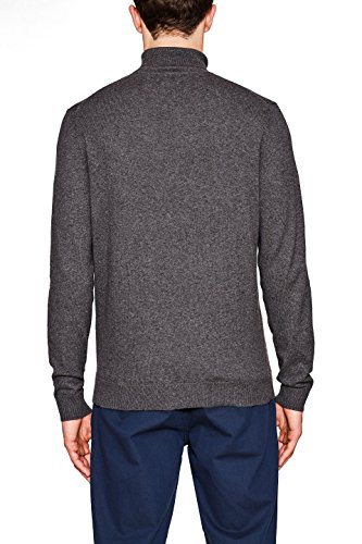 ESPRIT Collection Herren Pullover Grau (Dark Grey 020)