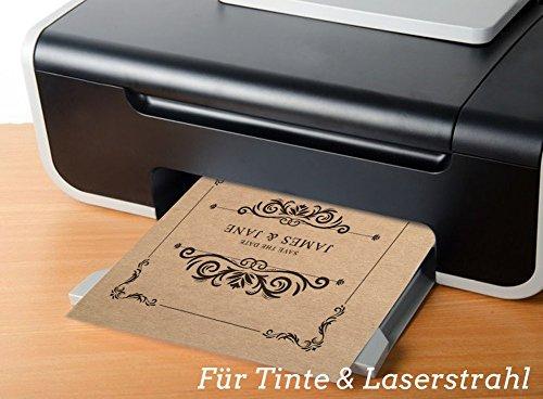 100 Blatt Kraftpapier A4 | 300 g