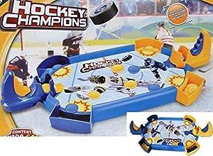 Allkindathings New Kids Deluxe Mini Mesa de Hockey sobre Hielo para niños Juguete Familia Divertido Juego