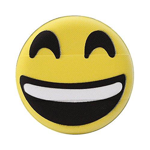Emoji Houppettes à poudre, Sansee Femmes Fashion Transparent Silicone Smiley Éponge Make Up Puff (H)