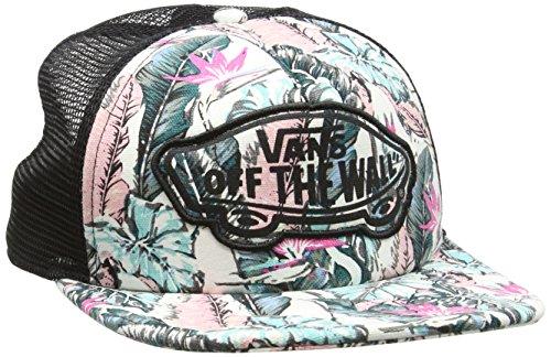 Vans Damen Baseball Cap Beach Girl Trucker Hat, Mehrfarbig (Tropical/Multi/Black), One size (Herstellergröße: One Size)