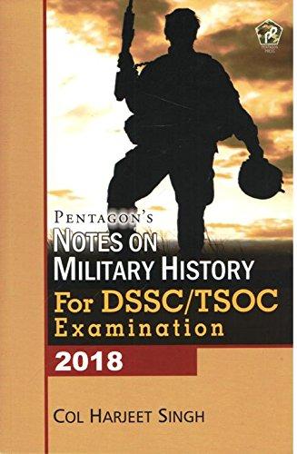 Notes on Military History for DSSC/TSOC Examination