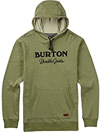 Burton Maynard Pullover Hoody Small Oil Green Heather