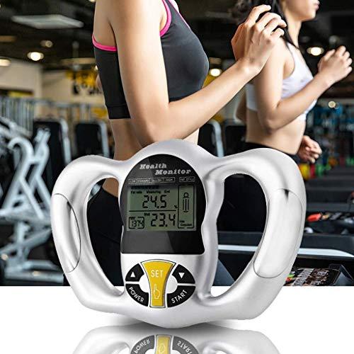 ZUZU Körperfett-Messgerät Hand-Körperfett-Detektions-Analysator, Fettmessgerät, Körperfettmessgerät