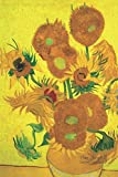 Van Gogh's Sunflowers: Lined Notebook