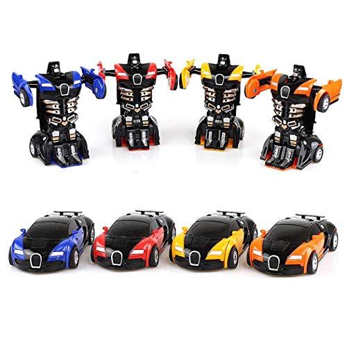Transforming Robot Car Toy Kids