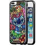 Disney Lilo and Stitch Rubber Phone Case for Funda iPhone 7 Plus (5.5 Inch) U3S3JYQ