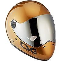 TSG Unisex Pass Pro Solid Color (+ Bonus Visor) Vollvisierhelm