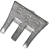 Cuña de martillo 23mm S SB–Fix tamaño 4, 2unidades)