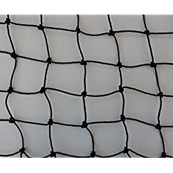 Malla pajarera de 10 m de longitud a elegir ppara viveros gallineros,malla color Negro 3cm, grosor: 1,5mm