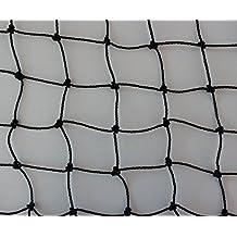 Volierennetz Breite 10 m Länge wählbar Tiergehege Hühnerauslauf schwarz Masche 3 cm - Stärke: 1,5 mm
