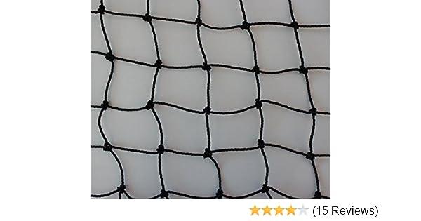 Geflügelzaun Geflügelnetz Weidezaun  40 m x 1,40 m schwarz  Maschenweite 5 cm