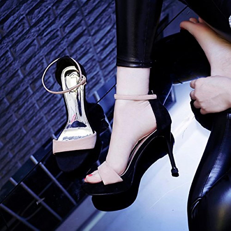 29a29ccdafabe4 jrfba chaussure chaussure chaussure des talons hauts, des femmes et des  filles est le numéro d'été, étanches, 10 cm sexy des sandales.b07dk59dll  parent   En ...