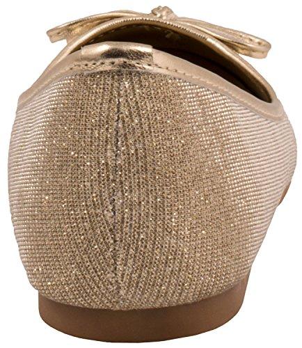 Elara - Scarpe da Ginnastica Basse Donna Gold