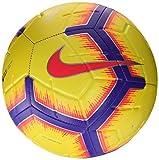 Nike Premier League Strike, Pallone da Calcio Unisex Adulto, Yellow/Purple/Flash Crimson, 4
