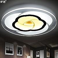 ZZYLIGHT-moderni soffitti di luce creativo contemporaneo lampada da soffitto LED per la camera da letto soggiorno sala da pranzo Sala per bambini, 20cm- diametro -12 watt