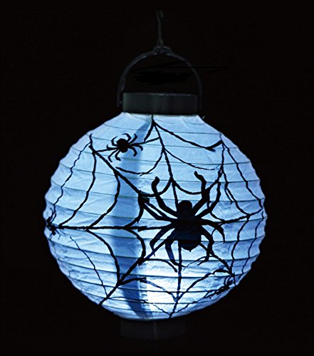 Halloween Laterne Dekorationen, Kürbis Fledermaus Spinne Skelett Lampe LED Lichter Home Party Outdoor Indoor Dekorieren (Spinnen Laternen) (Outdoor Spinne Dekoration)