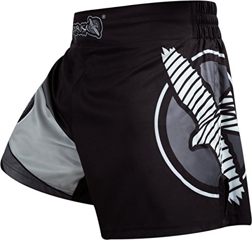 Hayabusa Kickboxing Shorts Black/Grey Hayabusa Shorts