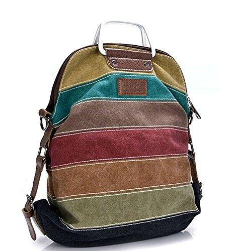 Imagen de kiss gold tm macutos bolso de bandolera totes colores arco iris multicolor