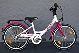 "20"" Zoll Biria Mädchen Kinder Fahrrad City Bike Shimano 3"