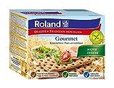 Roland Knäckebrot Hafer - glutenfrei, vegan, 10er Pack (10 x 230 g)
