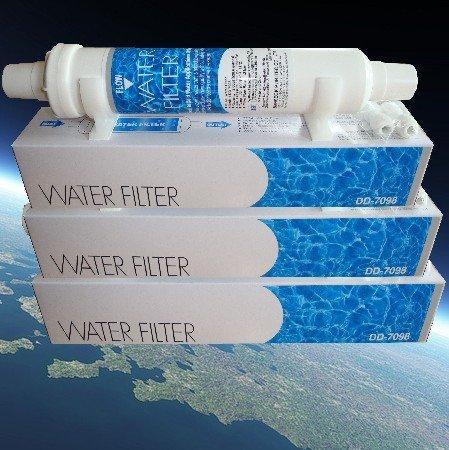 Filtro de agua Siemens, Bosch, Daewoo, Neff DD-7098, 497818, 3019974800 set de...