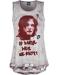 The Walking Dead Daryl Dixon - Graffiti Top Mujer multicolor