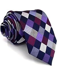 shlax wing Gris Corbatas Para Hombre Puntos Corbata Flaca Dotty Traje de  negocios Nuevo 2614d17181b