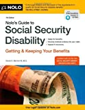 Nolo's Guide to Social Security Disability: Getting and Keeping Your Benefits by Morton III, David A. (2014) Paperback