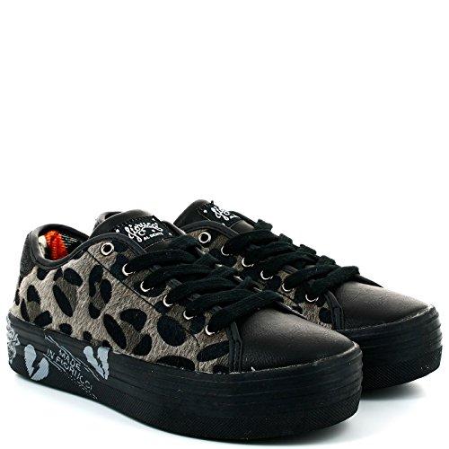 Fiorucci Donna Sneakers, FCAE023, Nero, 37