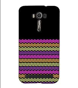 Fuson Designer Back Case Cover for Asus Zenfone 2 Laser ZE500KL (5 Inches) (Colourful Designer Theme)