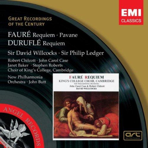 Fauré: Requiem, Pavane . Duruflé: Requiem