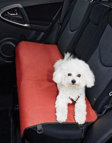 Hundedecke - Haustier - Hunde - Katze - Decke - Autozubehör - Autositz - Autoschonbezug - Autodecke - Sitzdecke - Sitzschoner - Einzelsitz - Multifunktionsdecke - Hundematte - Autoschondecke - Autodecke - Schmutzschutz - 1 Sitz - verstellbare Spanngurte - Braun - 113 x 54 cm