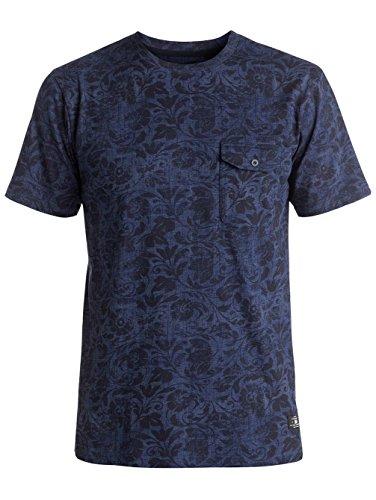 Herren T-Shirt DC Evansville T-Shirt blue regal rags
