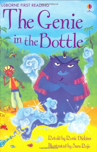 The Genie In The Bottle (Usborne First Reading)