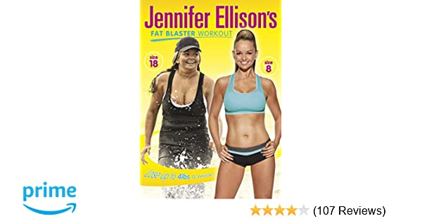 628104d08f865 Jennifer Ellison s Fat Blaster Workout  DVD   Amazon.co.uk  DVD   Blu-ray