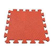 Worthititit Mat&30x30cm Solid Color Thicken EVA Foam Baby Crawling Anti Slip Puzzle Play Mat Mat for Outdoor and Indoor Anti-slip Barrier Mat