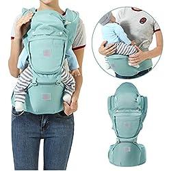 Mochila portabebés, Fular portabebés, InnoBeta portabebés Ergonomica con Múltiples posiciones para llevar a tu bebe Manos libres, con 2 modos para porta bebe con comodidad,para recien nacido al 36 meses