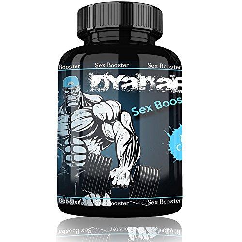 Dyanabol Sex Booster By Varg Power | 100 Kapseln Natürliche Formel für alle aktiven Männer & Sportler - Kraft & Ausdauer im Leben | Erhöht den Testosteronspiegel | Potenzmittel Hochdosiert