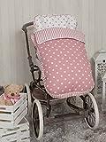 Babyline Carrusel - Saco de silla de paseo, color rosa