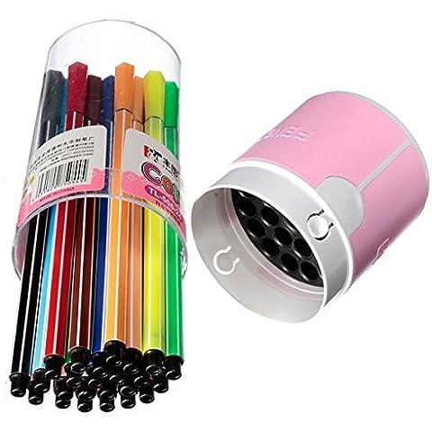 Yongse 24 colori lavabili acquerelli pennarelli pittura Disegno Art Supplies