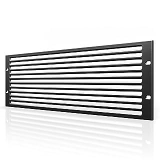 AC Infinity Rack Panel Zubehör Vent 3U Platz für 48,3cm Rackmount, Premium Aluminium Bj und eloxiertem Finish
