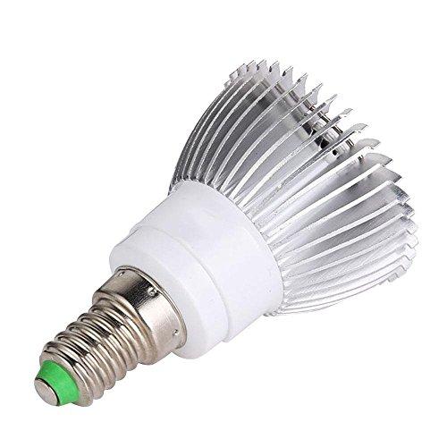 LED Leuchtmittel, teepao SPECTURM wachsen Pflanzen Grow Lampe E2718W Pflanzen Grow Leuchtmittel für den Innenbereich Pflanzen Gewächshaus Hydrokultur Garten e14 (Pflanzen Wachsen)
