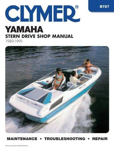 Clymer Yamaha Stern Drive Shop Manual, 1989-1991 by Penton Staff (2000-05-24) -