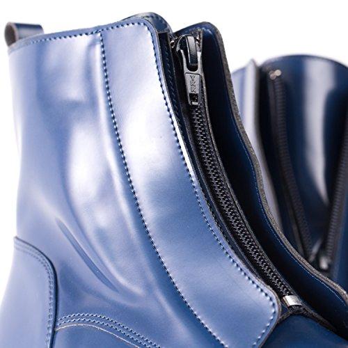 NAE Zipme Blau - Damen Vegan Stiefel - 5