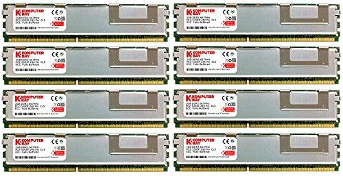 Komputerbay Speicher-Upgrade für Dell 490/690/T7400 Precision Workstation, 16GB (8x2GB)