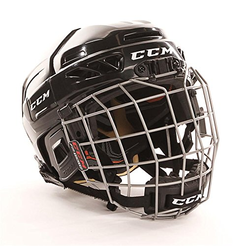 CCM-Fitlite-3DS-Hockey-casco-Combo-juventud-HTYTHC-Negro